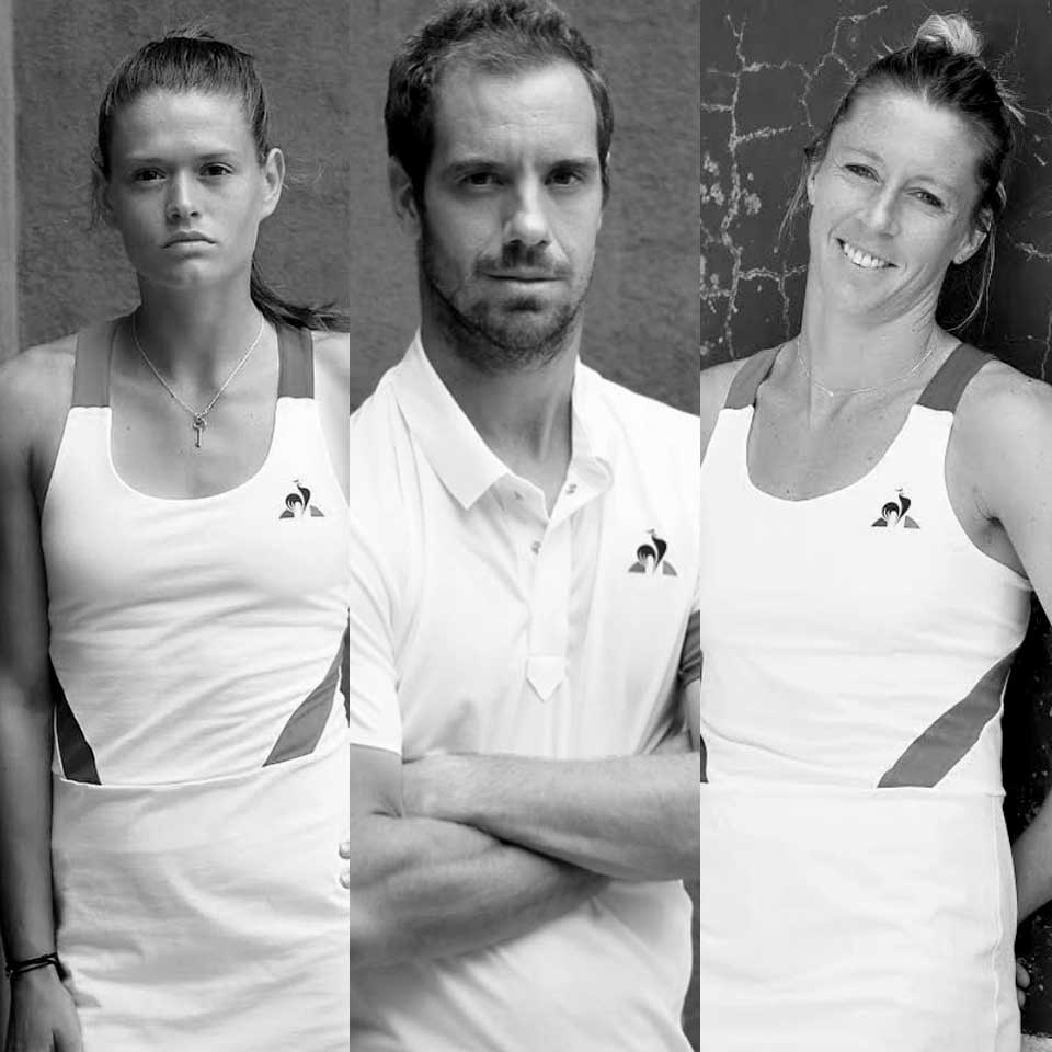Les champions tennis Le coq sportif