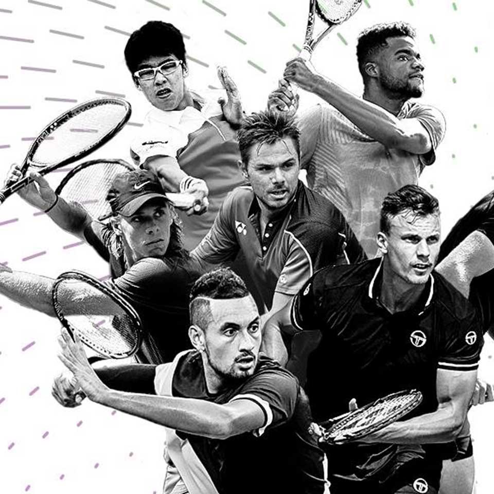 Champions Yonex tennis