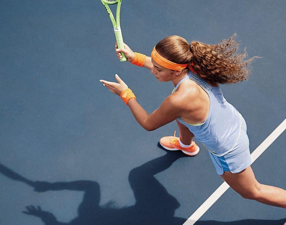 Tennis technique Karanta